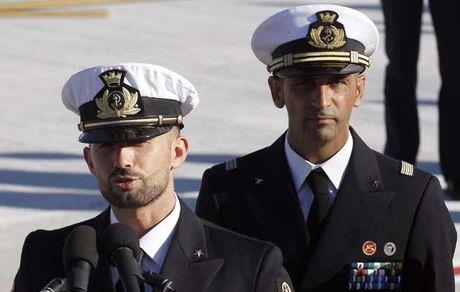 italian marinesishermen