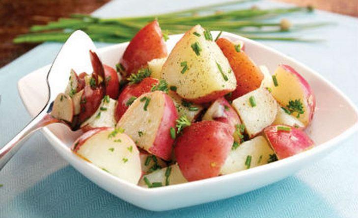 patates fournou kokines