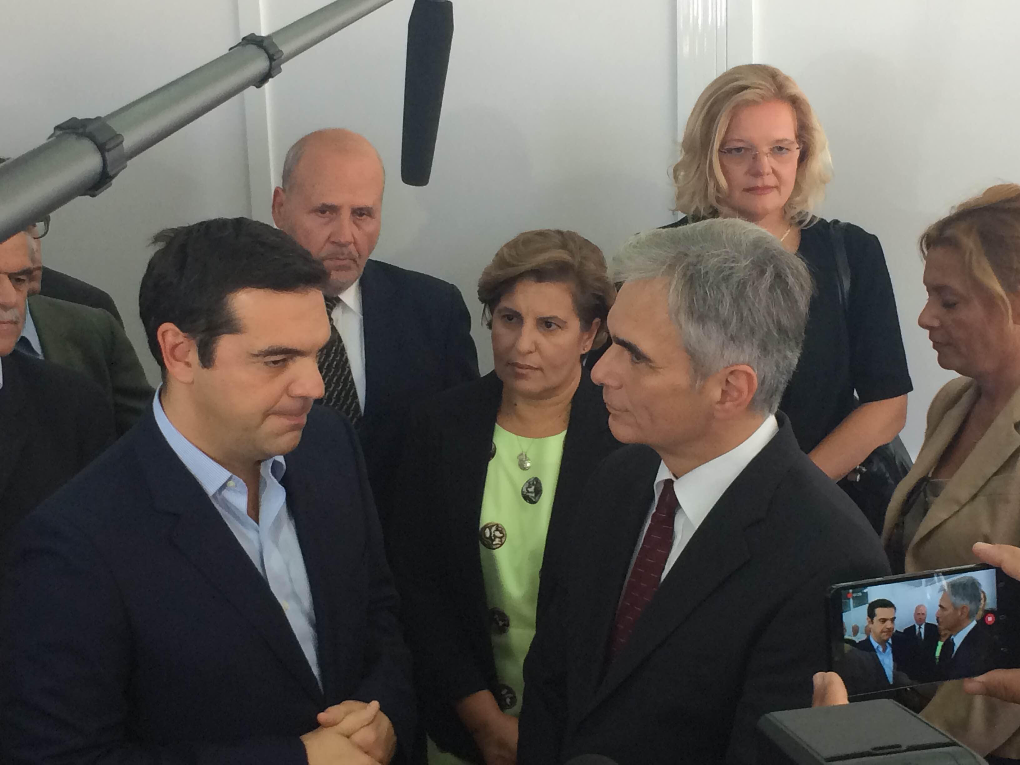 aleksis tsipras stin mitilini